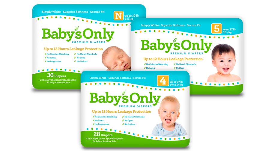 Baby's Only® Diapers