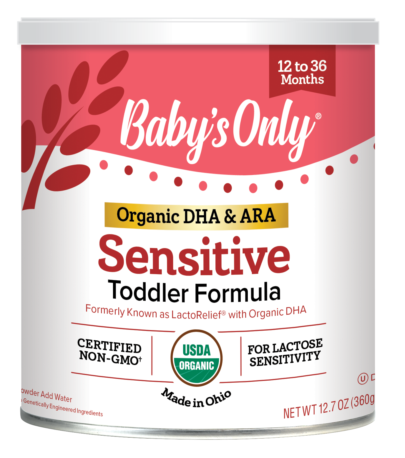 Our DHA and ARA are naturally derived from egg yolks for easier absorption and greater bioavailability